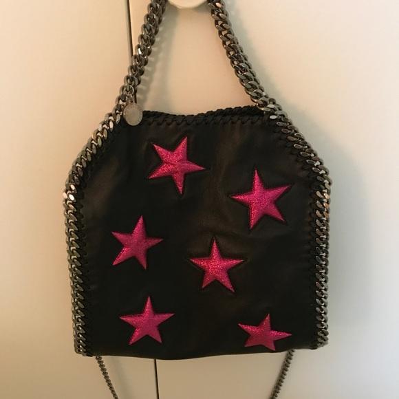 8f6fbbd02757 Stella McCartney Falabella Mini Tote Stars - RARE.  M 5b82e99647736855a0df653c